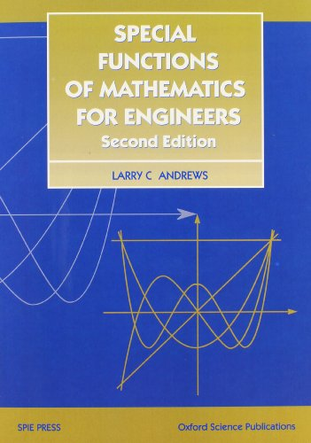 9780819483713: Special Functions of Mathematics for Engineers