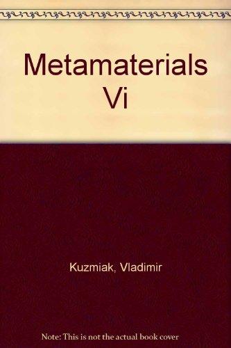 Metamaterials VI: 20-21 April 2011, Prague, Czech Republic (Paperback): Vladimir Kuzmiak