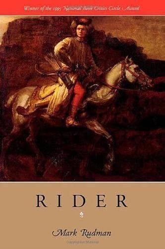 9780819512178: Rider: The Rider Quintet, vol. 1 (Wesleyan Poetry Series)