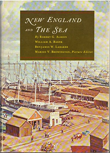 9780819540522: New England and the Sea (The American maritime library)