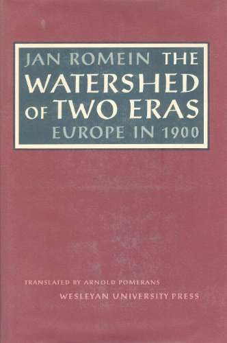 9780819550262: The Watershed of Two Eras: Europe in 1900