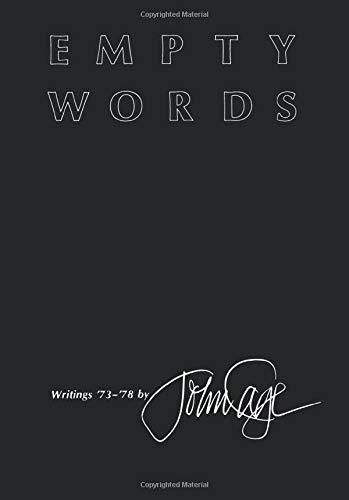 9780819550323: Empty Words: Writings '73–'78