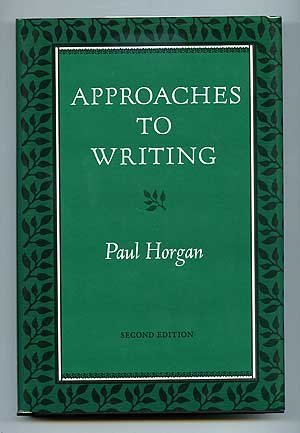 9780819552105: Approaches to Writing
