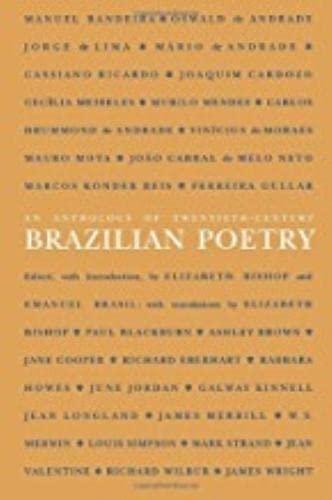 9780819560230: An Anthology of Twentieth-Century Brazilian Poetry (Wesleyan Poetry in Translation)