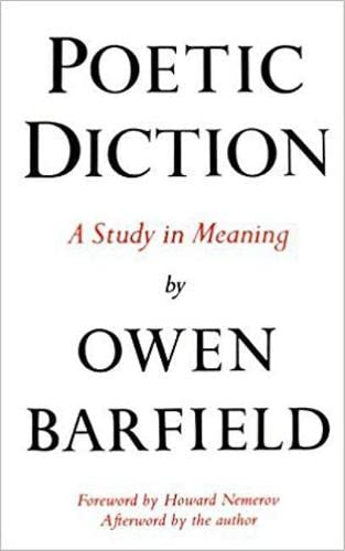 9780819560261: Poetic Diction: A Study in Meaning (Wesleyan Paperback)