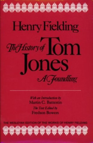 9780819560483: The History of Tom Jones, A Foundling (The Wesleyan edition of the works of Henry Fielding)