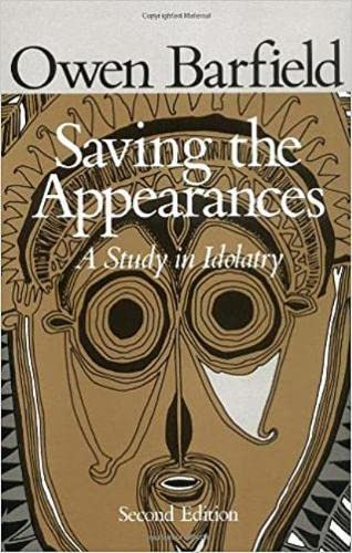 9780819562050: Saving the Appearances: The First Two Centuries: Study in Idolatry