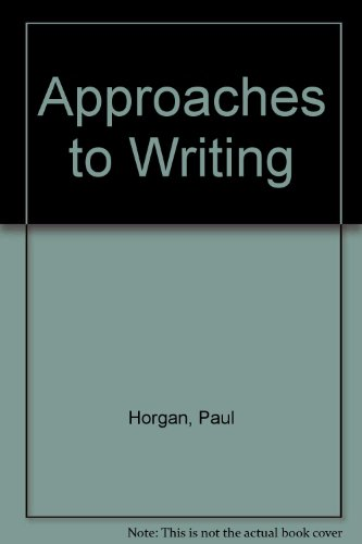 9780819562210: Approaches to Writing