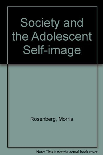 9780819562289: Society and the Adolescent Self-Image. Rev. ed. (Wesleyan paperback)