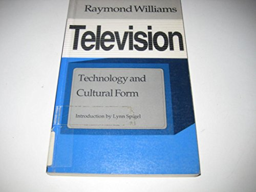 9780819562593: Television: Technology and Cultural Form