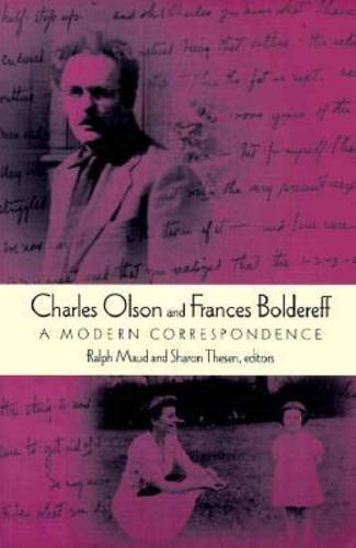 9780819563644: Charles Olson and Frances Boldereff: A Modern Correspondence