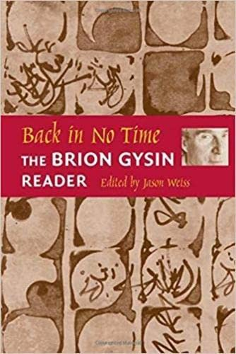 9780819565280: Back in No Time: The Brion Gysin Reader