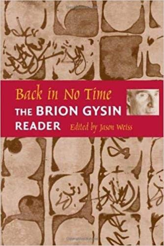 9780819565297: Back in No Time: The Brion Gysin Reader