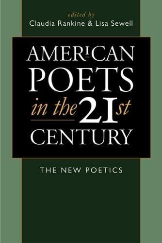 9780819567284: American Poets in the 21st Century: The New Poetics