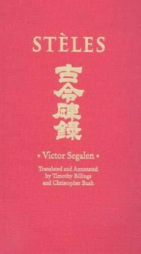 9780819568335: Stèles (Wesleyan Poetry Series)