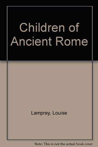 9780819601148: Children of Ancient Rome