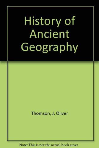 9780819601438: History of Ancient Geography