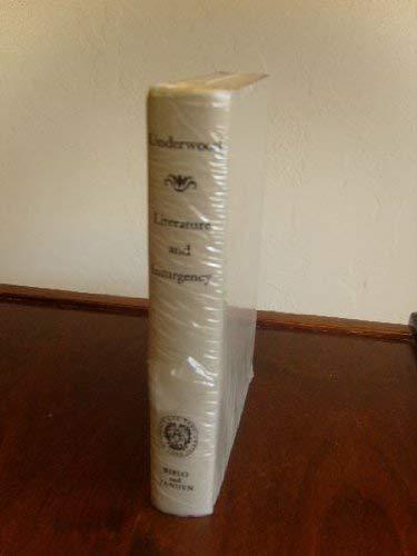 9780819602886: Literature and Insurgency: Ten Studies in Racial Evolution