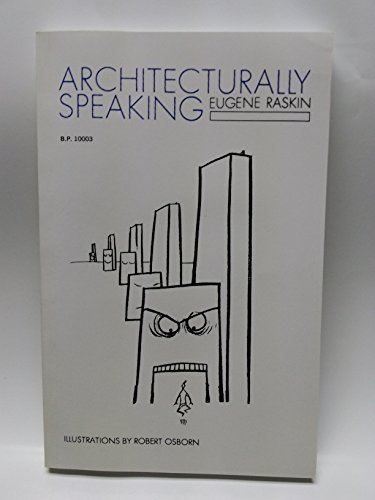 9780819700032: Architecturally Speaking