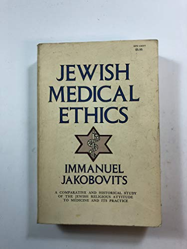 9780819701008: JEWISH MEDICAL ETHICS