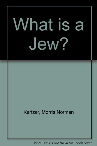 9780819702999: What is a Jew?
