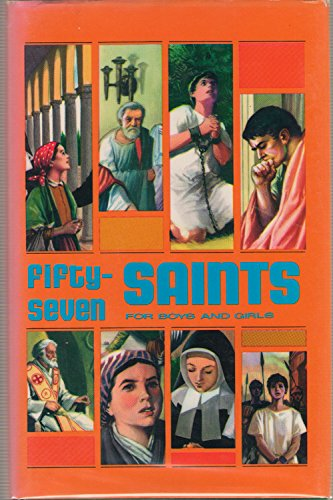 9780819800442: Fifty-Seven Saints for Boys and Girls