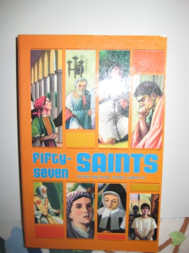 9780819800459: Fifty-Seven Saints for Boys and Girls