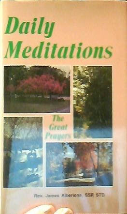 9780819818126: Daily Meditations: The Great Prayers