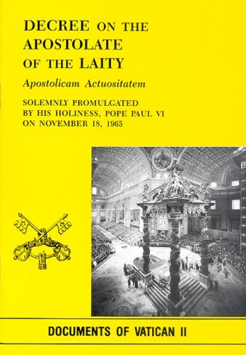 9780819818362: Apostolicam Actuositatem / Decree on the Apostolate of the Laity