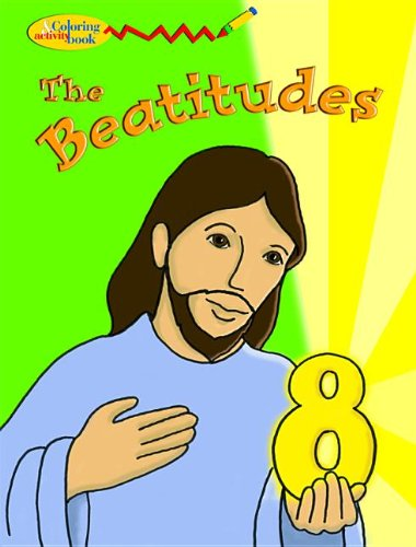 9780819823595: The Beatitudes Coloring & Activity Book