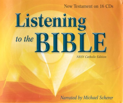 9780819845078: Listening To The Bible - New Testament On CD