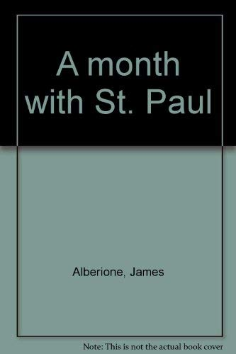 9780819847218: A month with St. Paul