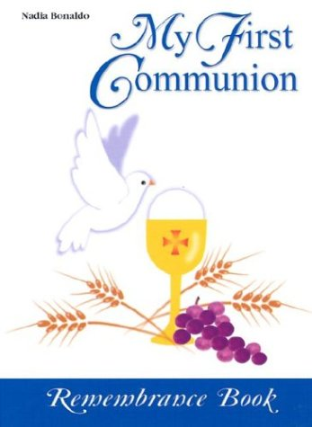 9780819848246: My First Communion Book: Remembrance Book