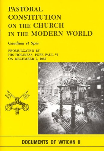 9780819858542: Pastoral Constitution on the Church in the Modern World: Gaudium Et Spes