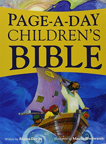 9780819860323: Page-A-Day Children's Bible