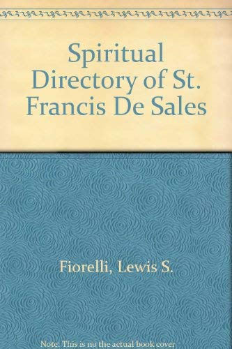 9780819868619: Spiritual Directory of St. Francis De Sales