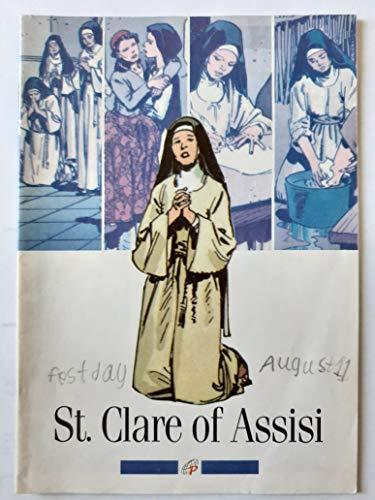9780819869760: St. Clare of Assisi (Pauline Comics)