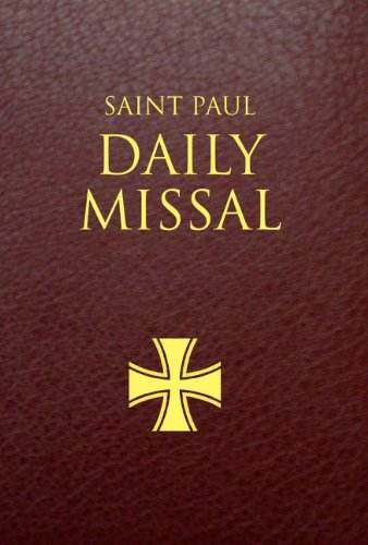 9780819872203: Saint Paul Daily Missal: Burgundy Leatherflex