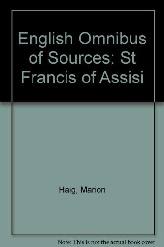9780819906588: English Omnibus of Sources: St Francis of Assisi