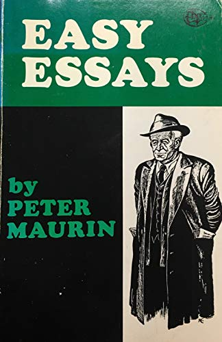 easy essays peter maurin  9780819906816 easy essays