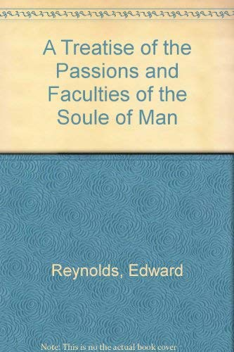9780820110950: A Treatise of the Passions and Faculties of the Soule of Man (History of psychology series)