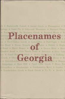 9780820303420: Placenames of Georgia: Essays of John H. Goff