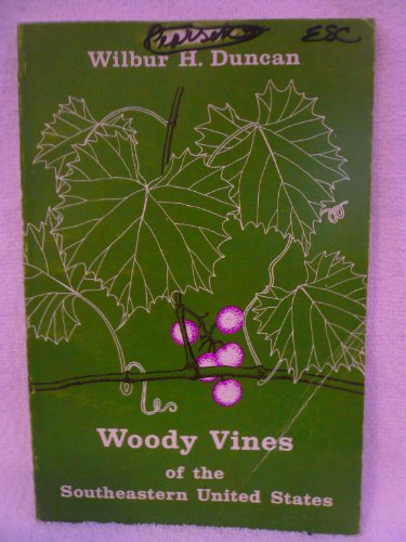 9780820303482: Woody Vines of the Southeastern United States