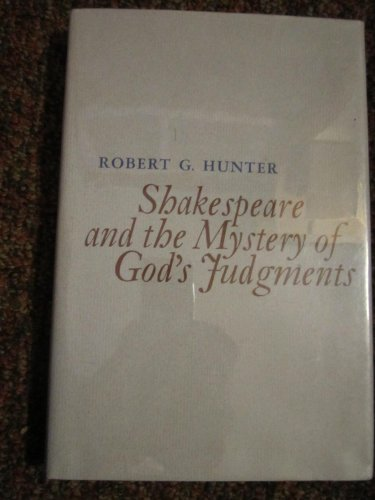 9780820303888: Shakespeare and the Mystery of God's Judgments