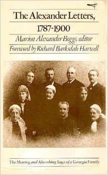 9780820304939: The Alexander Letters, 1787-1900 (Brown Thrasher Books)