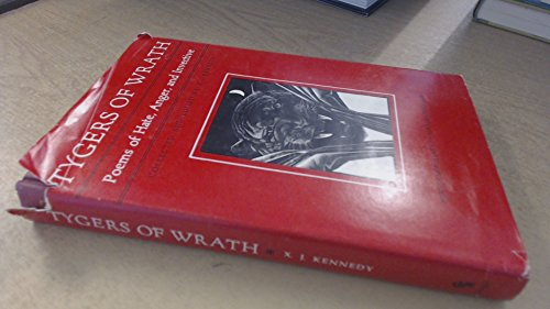 Tygers of Wrath: Poems of Hate, Anger, and Invective (0820305359) by X. J. Kennedy