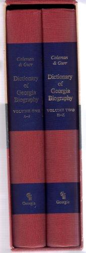 DICTIONARY OF GEORGIA BIOGRAPHY: Coleman