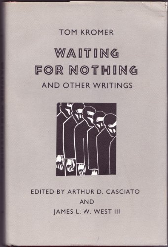 9780820307978: Waiting for Nothing and Other Writings