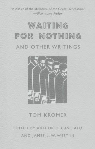9780820307985: Waiting for Nothing and Other Writings