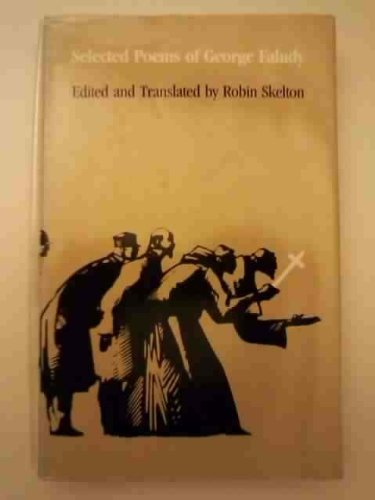 9780820308098: George Faludy: Selected Poems, 1933-80